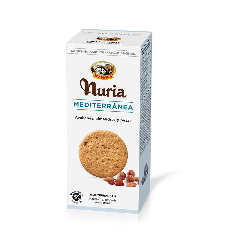 Nuria - herbatniki z oliwą z oliwek i bakaliami