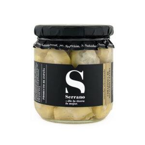 Karczochy w oliwie z oliwek