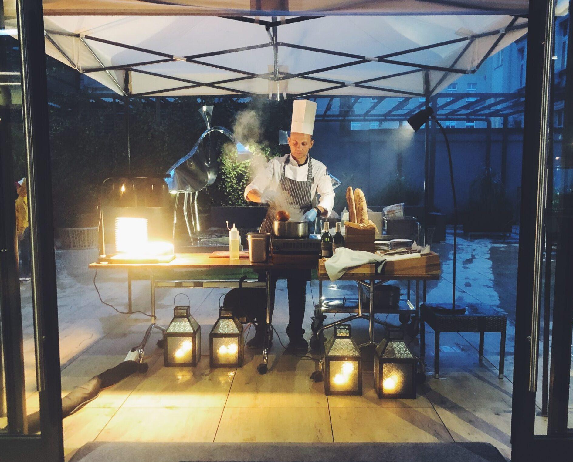 restauracja fuego ac by marriott